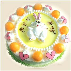儿童蛋糕:圆圆满满