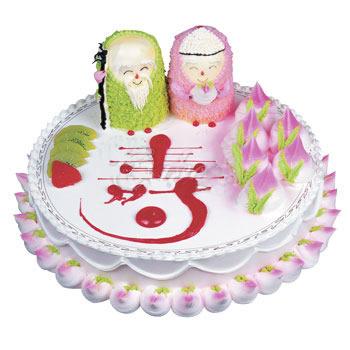 蛋糕:福寿双全