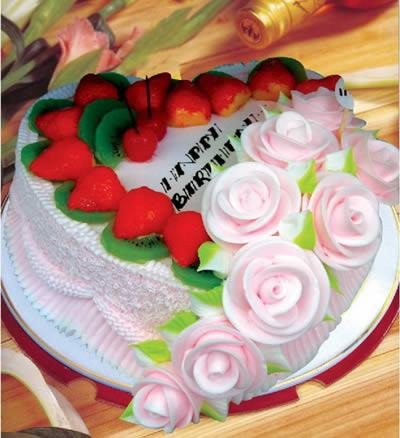 生日蛋糕-心有独钟