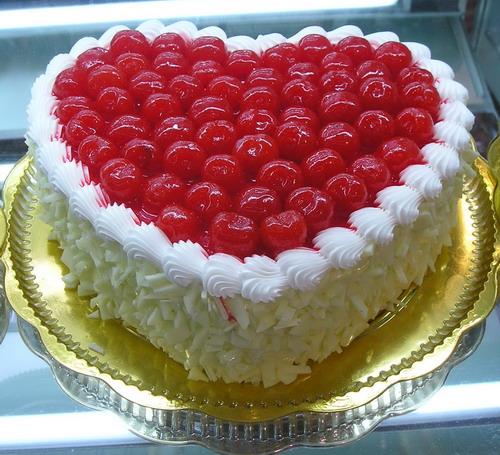 生日蛋糕-爱你的心