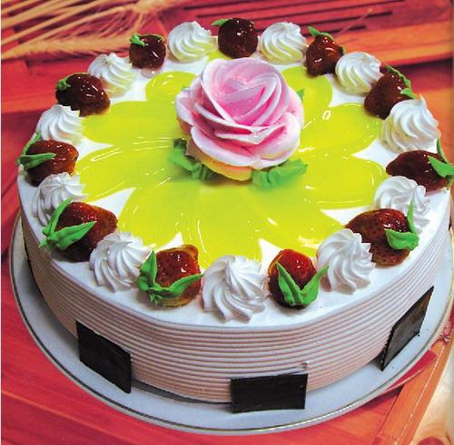 生日蛋糕-一枝独秀