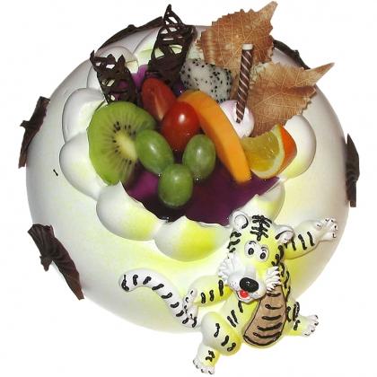 儿童蛋糕:跳跳虎