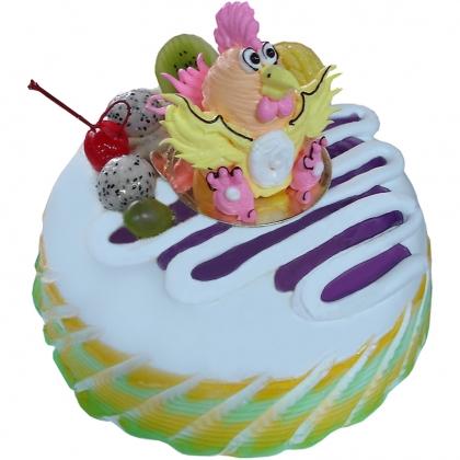 儿童蛋糕:小鸡淘淘