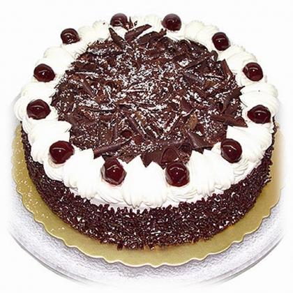 黑森林蛋糕:雪绒花