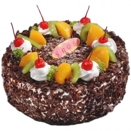 黑森林蛋糕:挪威森林
