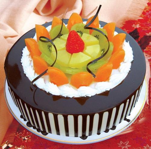 生日蛋糕-五彩缤纷