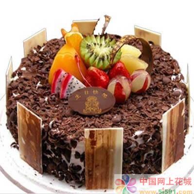 黑森林蛋糕:北美风情