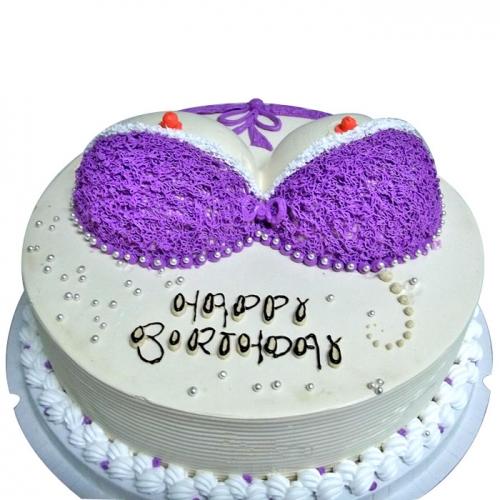 情趣蛋糕-紫衣魅惑