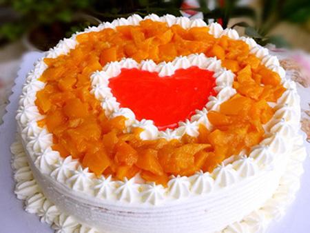 芒果千层:芒果鲜奶蛋糕